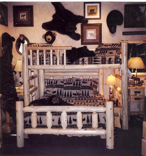 Tahoe Lodge Style Furnishings Cabin Fever Tahoe Bedroom - Lodge style bedroom furniture